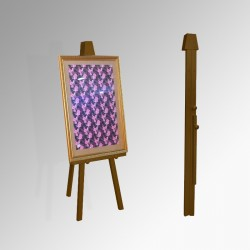 Greco 'Folding' Easel 160cm, Brown