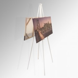 Back to Back Easel 160cm (Metal), White