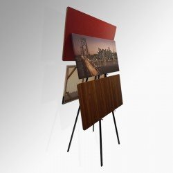 Back to Back 'Double' Easel 160cm (Metal)