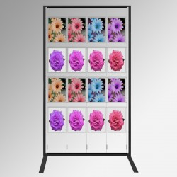 Display Panel Stand A4, Black (x16)