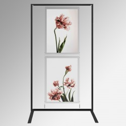 Display Panel Stand A1, Black (x2)