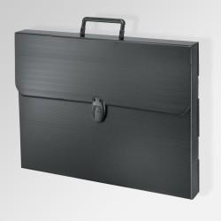 'Polylite' Artwork Case, Black