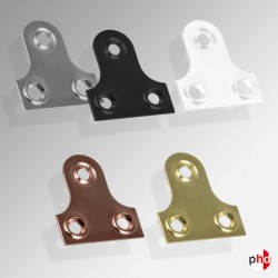 Mirror Plates Hangers Brass Nickel & Various Colors