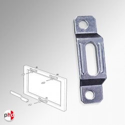 Security T-Bracket for Anti-theft Picture Hanging Kit (Pack of 100)