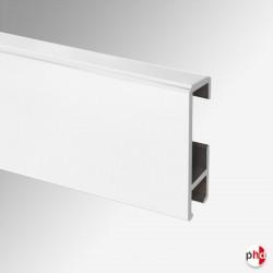 Clip Rail, 2m & 3m White Black Silver Track (Modern Picture Rail Only)