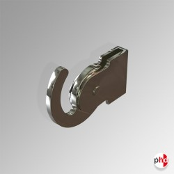 Hanging Rod Hook, 80kg Heavy Duty Picture Hanger (J Rail, C Rail & P Rail)