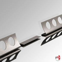 Plaster Rail Track Connector, Joins 2 Picture Rails (Installation Fittings)
