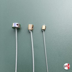 Cable Studs, Wire Fasteners & Sliders (Brass)
