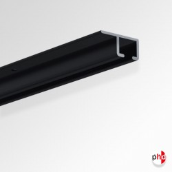 U Rail Track, 2m & 3m Discreet Picture Rail (for Ceilings)