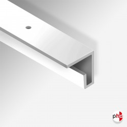 C Rail Track, 2m & 3m Ceiling Picture Rail (80kg Heavy Duty)