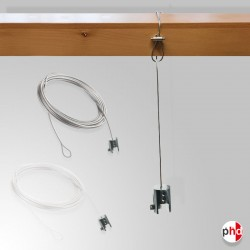 Beam Hanging Wire & Panel Clamp Set, No Nail Board Hanger (Heavy Duty)