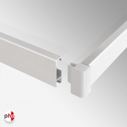 Corner Connector, for Clip Rail Lighting Track (Installation Fitting)
