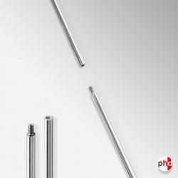 Steel Display Rod, 1.5m Length (Polished Chrome)
