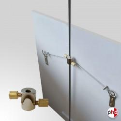 Rod Picture Hook, 10kg Art Hanger (Brass)