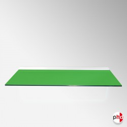 Green Color Floating Glass Shelf, All Surfaces (6mm Shelving Board)