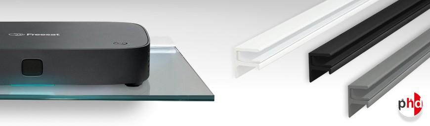 Floating Shelf Brackets (No Glass)