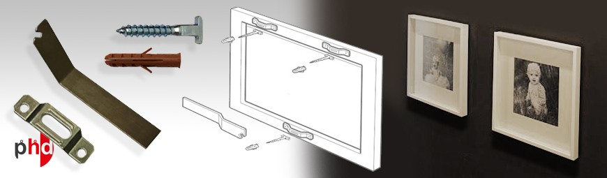Security Picture Hanging Kit, Anti-theft Frame Hangers
