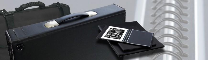 Artwork Portfolios Cases, Archival Display Sleeves