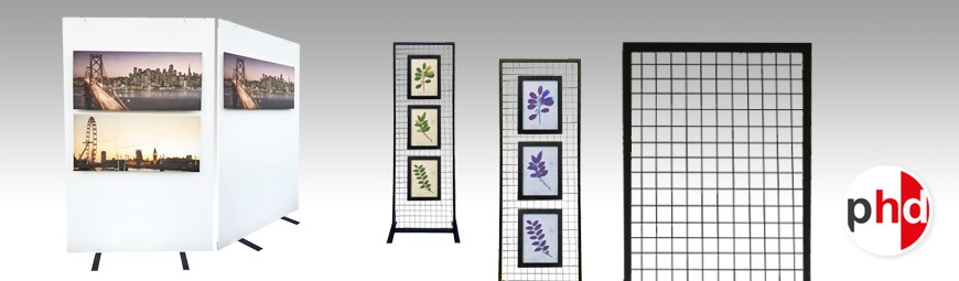 Expo Panel, Gridwall, Partition Systems