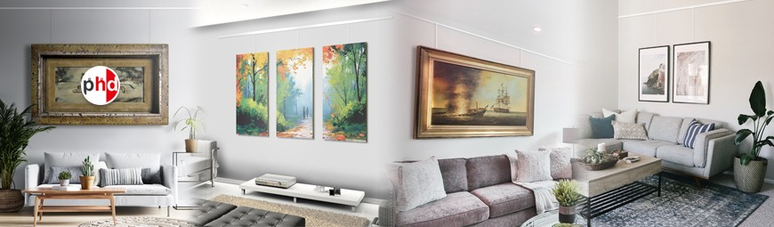 Art Gallery Systems, Wall Display Picture Hanging