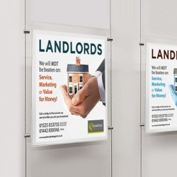 Cable Display Systems, Estate Agency Window & Wall Displays